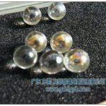 12-16透明夹心黄光泽玻璃珠12-16透明夹心黄光泽玻璃珠